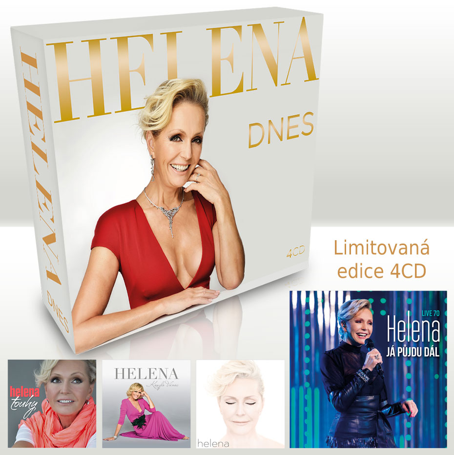 Helena DNES (4CD box)